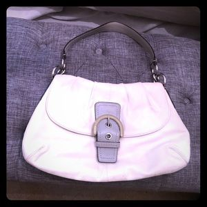 AUTHENTIC Ivory Coach Handbag